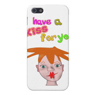 Valentine's Day funny kiss 4/4s  iPhone 5/5S Covers