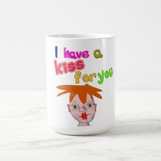 Valentine's Day funny kiss Mug