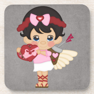 Valentine s Day Heart Cupid Coasters