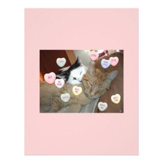 Valentine s Day Kittens Flyer