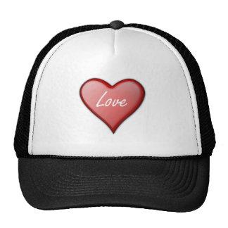 Valentine s Day Love Heart Mesh Hat