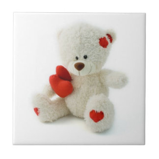 Valentine's Day Teddy Bear tile