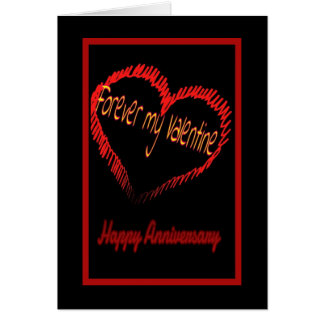Valentine s Day wedding anniversary Greeting Cards