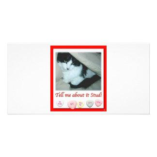 Valentine s Day Wedding Photo Greeting Card