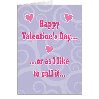 Valentine s Hump Day Card