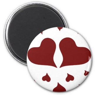 Valentine sday fridge magnets
