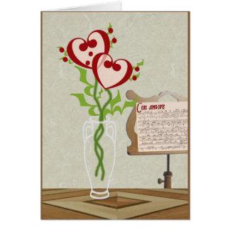 Valentine Serenade Greeting Card