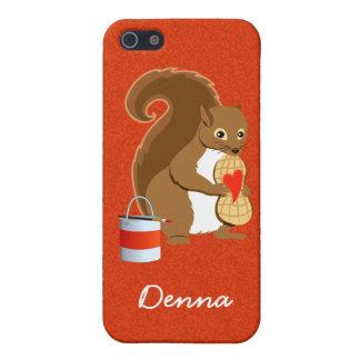 Valentine squirrel 2 iPhone 5/5S cover
