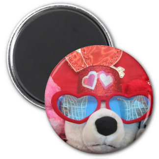 Valentine Stuffed Animals Magnet