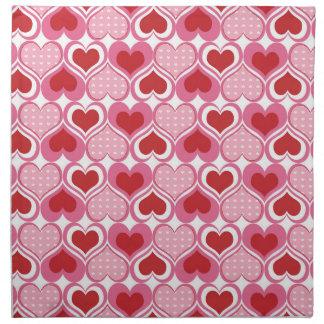 Valentine Sweethearts Cloth Napkins
