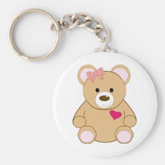Valentine Teddy Key Chains