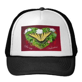 Valentine Tiger Swallowtail Butterfly Items Cap