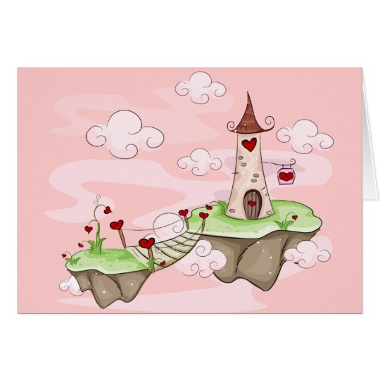 Valentine Tower Card