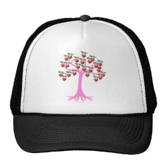 Valentine Tree Mesh Hats
