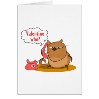 Valentine Who? Cards
