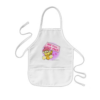 Valentine, Will You Love Me? Aprons