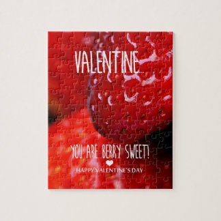 Valentine, you are berry sweet! jigsaw puzzle