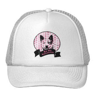 Valentines - Australian Cattle Dog Silhouette Trucker Hat