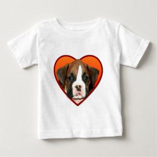 Valentine's Boxer puppy Baby T-Shirt