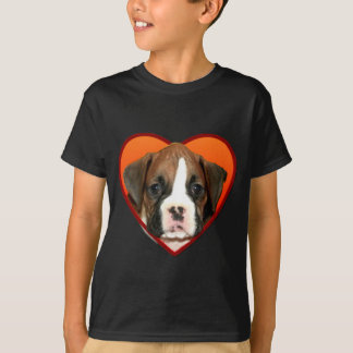 Valentine's Boxer puppy T-Shirt