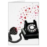 Valentine's Card - Retro Phone