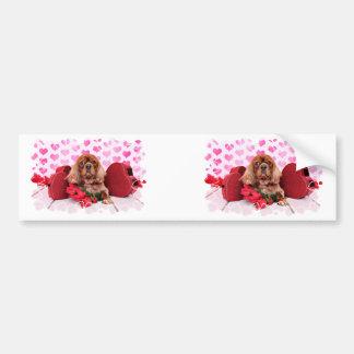 Valentines - Cavalier - Cooper Bumper Sticker