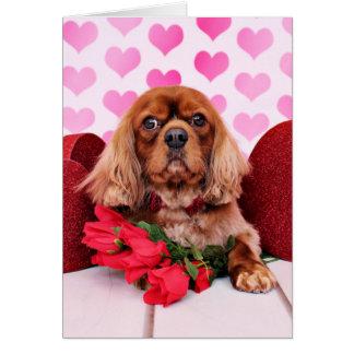 Valentines - Cavalier - Cooper Card