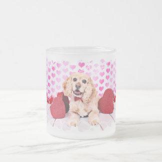 Valentines - Cocker Spaniel - Duke Coffee Mugs