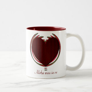 Valentines Collection - Customized Two-Tone Coffee Mug