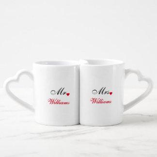 Valentines Day Bride Groom Wedding Date Love Mugs Lovers Mug
