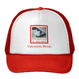 Valentine's Day Bride Trucker Hat