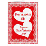 Valentine's Day Card For Son In French