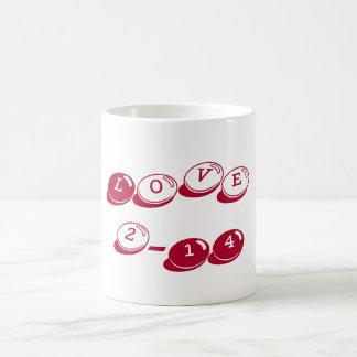 Valentine's Day Classic Love Mug Alabama Crimson