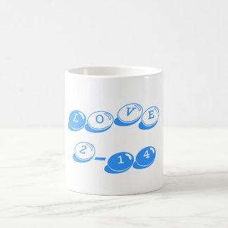 Valentine's Day Classic Love Mug Bright Azure
