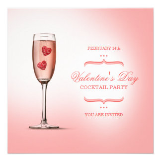 Valentine's Day Cocktail Party invitation