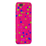 Valentine's Day Colourful Hearts Phone Case iPhone 5 Cases