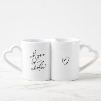 Valentine's day couple's mug set