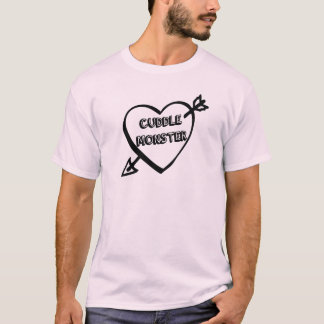 Valentine's Day Cuddle Monster T-Shirt