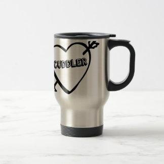 Valentine's Day Cuddler Stainless Steel Travel Mug
