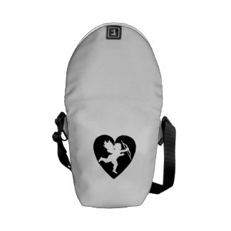 Valentine's Day Cupid with Heart Messenger Bag