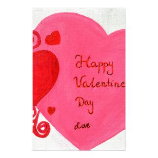 Valentine's Day Custom Stationery