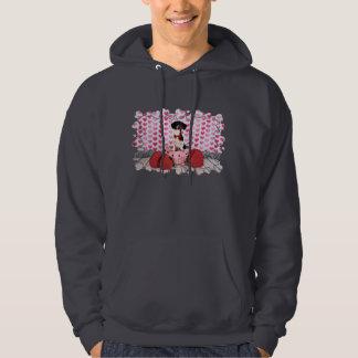 Valentine's Day - Ducky - Dachshund Sweatshirts