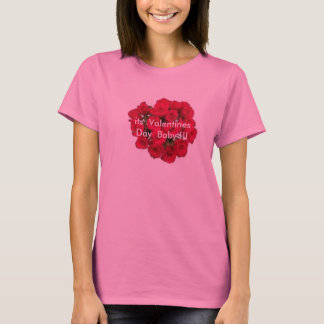 Valentine's day  female  t-shirt