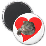 Valentine's Day Gifts, Wombat Love! Magnet