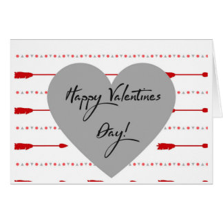 Valentine's Day Greeting Card | Blank | Arrows