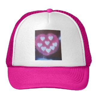 Valentine's day hart hat