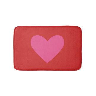 Valentine's Day Heart Bath Mat