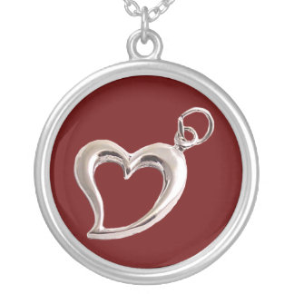 Valentine's Day Heart Necklace