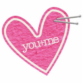 Valentine's Day Heart Photo Sculpture