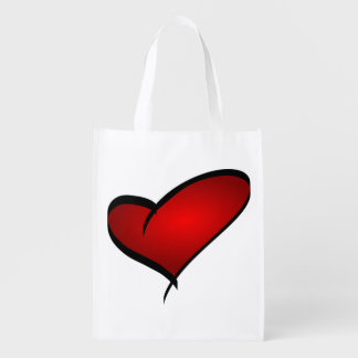 Valentine's Day Heart Reusable Bag